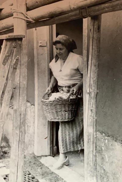 Mit einem Wäschekorb im Breisgau führte sie als erfolgreiche Geschäftsfrau ein arbeitsreiches Leben