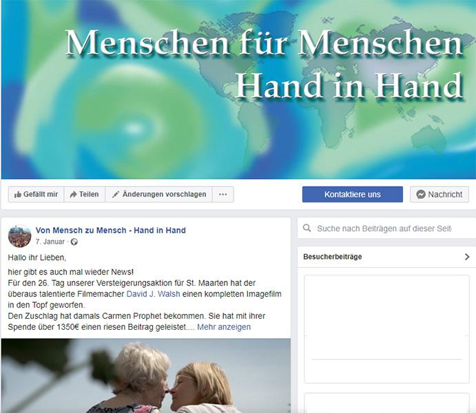 facebook Seite Menschen für Menschen