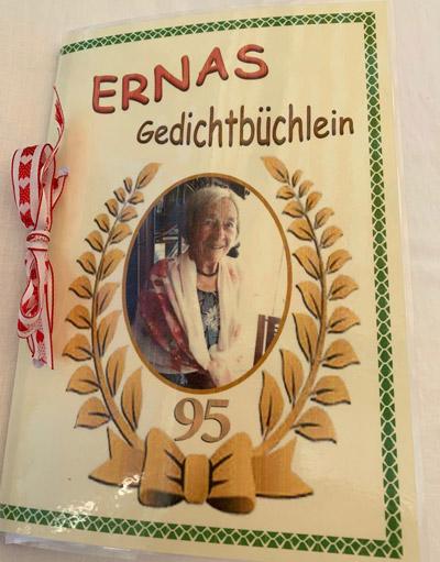 So sieht das Gedichtbüchlein von Erna Gabath aus